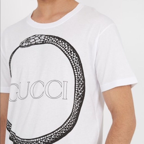 e8f0ca352 Gucci Other - Men s Gucci Snake Print T-Shirt